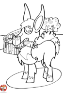 L'âne et sa carotte