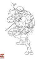 Tortue Ninja épées