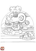 Festin de souris