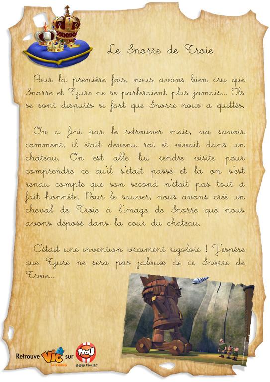 Carnet de bord_vic le viking _Le snorre de troie
