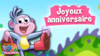 Jeu Dora L&#039;Exploratrice : joyeux anniversaire
