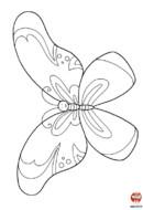 Le beau papillon