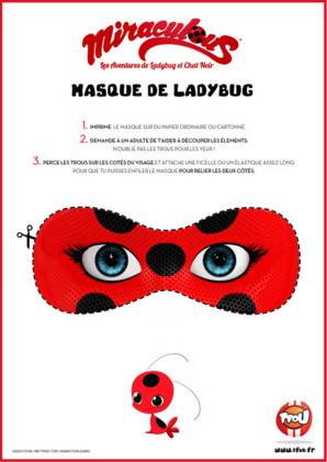 Masque Lady Bug