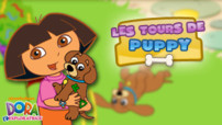 Jeu Dora L&#039;Exploratrice : les tours de Puppy
