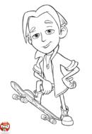 Nick Dean skate