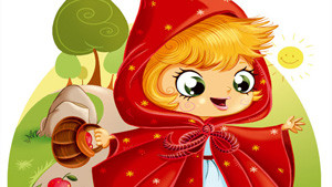 Coloriage Chaperon rouge
