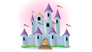 Coloriage Château fort