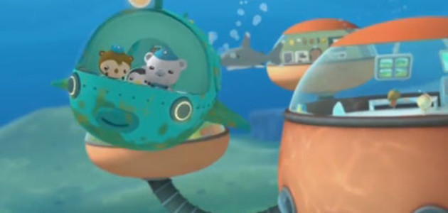 Les octonauts et Boris le narval - Octonauts