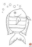 Le poisson fait des bulles