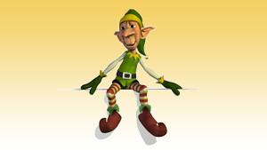 Coloriage Elfe