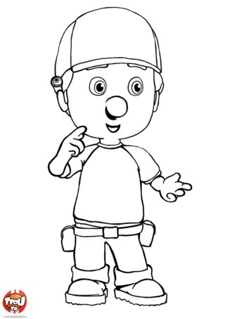 Coloriage: Manny