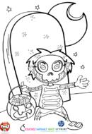 Le squelette plein de bonbons