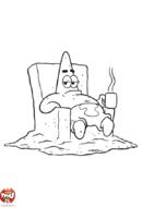 Patrick prend le café