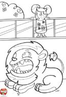 La cage du lion