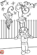Les singes blagueurs