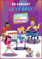 Affiche_concert Agents pop secrets