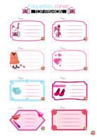 etiquette - cahier