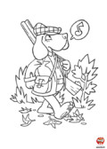 Monsieur Teckel part à la chasse
