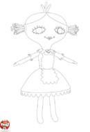 La poupée de Bébé Lilly