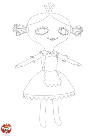Coloriage: La poupée de Bébé Lilly