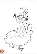 Poule joyeuse