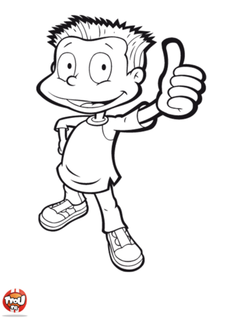 Coloriage: Tommy super