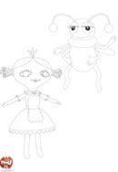 La poupée et l'insecte