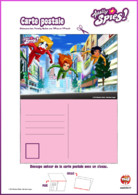 Carte Postale totally spies