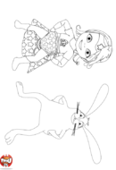Super Bébé Lilly et Copain lapin
