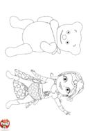 Copain ours et Super Bébé Lilly