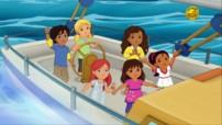Un dragon à l'école - II - Dora and friends... au coeur de la ville