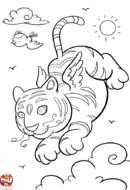 Tigre ailé