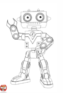 Copain robot de Bébé Lilly