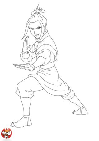 Coloriage: Avatar4