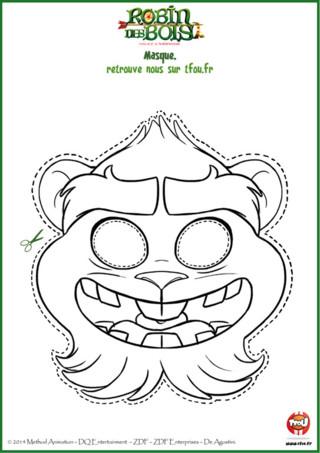 Chez TFou.fr nous savons tout ! La preuve ! Derké a été transformé en hamster. Mais comment était-il avant ? Un humain peut-être ? Non pas possible, pour le savoir regarde les épisodes de Robin des Bois. En attendant, imprime gratuitement ce coloriage pour enfants sur TFou.fr et amuse-toi à imiter Derké. Tu as juste à découper à l'aide d'un adulte le contour du masque et le tour est joué ! Comme par magie tu es transformé en Derké... mais Derké aussi fait de la magie... Et si c'était toi Derké ?!