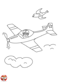 Avion de course