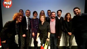 Ghislaine Pujol et le jury TFOU d'ANIMATION 2015 v2 copie