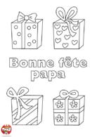 Des cadeaux pour papa