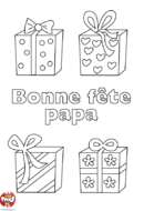 Des cadeaux pour papa