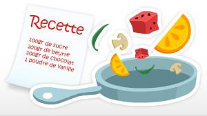 Coloriage Activités Recettes de cuisine