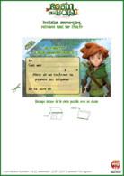 Robin_des_Bois_jeux_invitations_Carton d'anniversaire Robin
