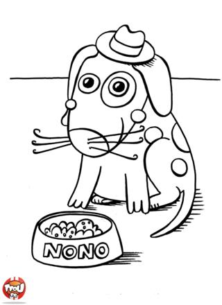 Coloriage: Nono le chien