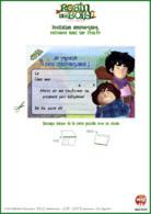 Robin_des_Bois_jeux_invitations_Carton d'invitation Tuck et Petit Jean