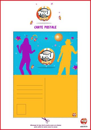 Imprime gratuitement sur TFou.fr cette carte postale TFou de Clips !