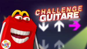 Jeu : Happy Meal Challenge Guitare