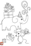 L'anniversaire des animaux
