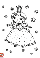 La princesse aux fleurs