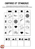 Chiffres et symboles 1
