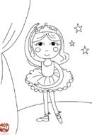 La jeune danseuse