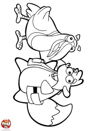 Coloriage: Les animaux Dora